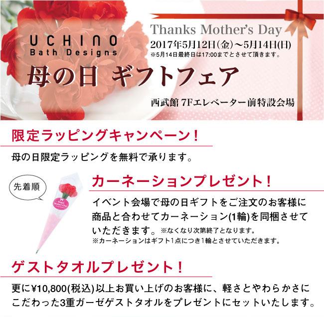 西武東戸塚店母の日ギフトフェア