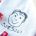 敬老の日お絵かき刺繍